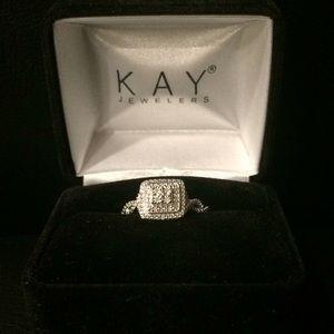 NWOT Kay Jeweler's Silver Ring
